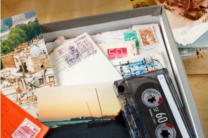 caja para guardar recuerdos de un amor roto
